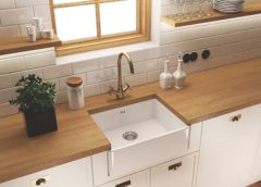 Zlewozmywak ceramiczny – piękny i praktyczny