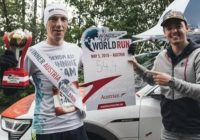 Wojciech Baran, zawodnik OKNOPLAST Running Team wygrał wiedeńską edycję Wings for Life World Run