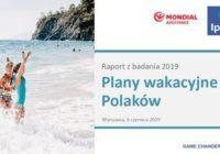 65 proc. Polaków wybiera się w tym roku na wakacje