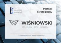 Marka WIŚNIOWSKI Partnerem Strategicznym II Ogólnopolskiego Forum Stolarki