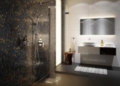 Strefa nowoczesnego prysznica