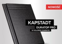 Dachówka cementowa KAPSTADT w kolorze czarnym z powłoką DURATOP PRO