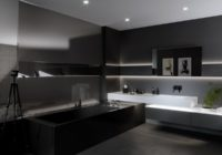 Czarna armatura w łazience