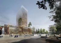 Najwyższy drewniany budynek świata – Dom Kultury Sara w Szwecji w systemach ALUPROF
