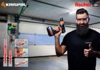 KRISPOL i fischer na rzecz dobrego montażu segmentowych bram garażowych