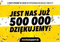 Media Expert: Pół miliona fanów! Świętujemy konkursem!
