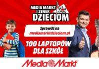 """Akcja """"MediaMarkt i Zenek dzieciom"""" – 100 laptopów trafi do szkół"""
