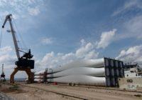 Kuehne+Nagel z sukcesem realizuje ponadgabarytowy transport rzeczny dla firmy Vestas, producenta turbin wiatrowych