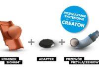 Ceramiczne kominki dachowe SIGNUM marki CREATON – sposób na dach z gwarancją do 50 lat