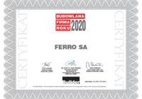 Wyróżnienia Builder Awards 2020 dla FERRO