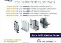 Alu-Edukator on-line 2021 – ruszają szkolenia Aluprof
