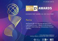 FERRO – laureatem wyróżnienia WNP Award