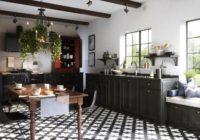 Czarne baterie w kuchni