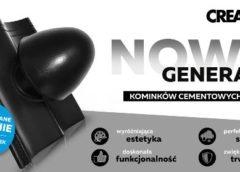 Nowa generacja cementowych dachówek kominkowych 100 mm marki CREATON