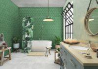 Biophilic design w łazience i kuchni